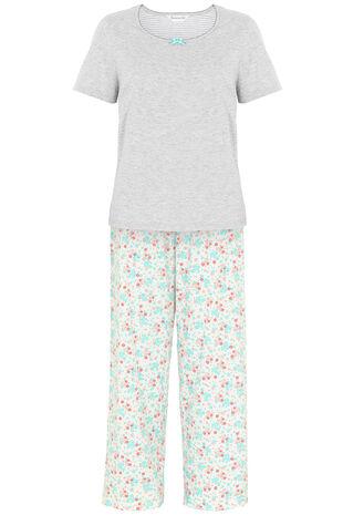 Floral Print Gift Wrapped Pyjama Set