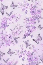 Oriental Butterfly Print Scarf