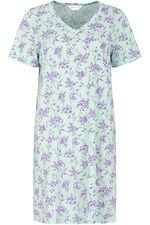 Lilac Aqua Floral Nightdress