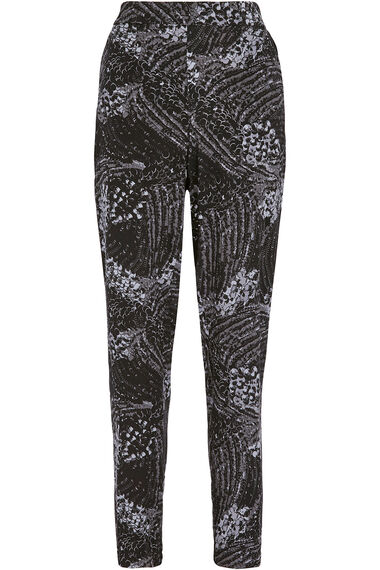 Sequin Cluster Harem Trousers