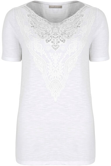 Ann Harvey Lace Yoke Top
