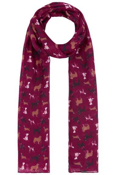 Dog Printed Scarf