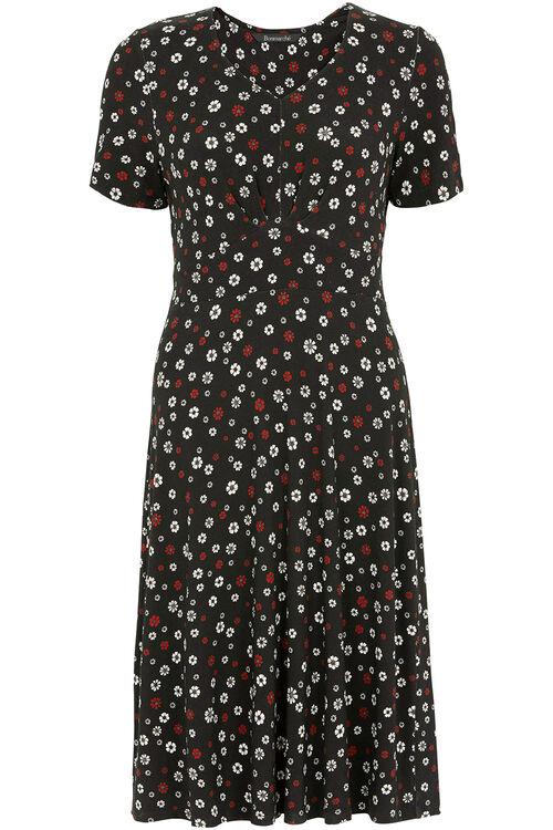 Ditsy Floral Tea Dress