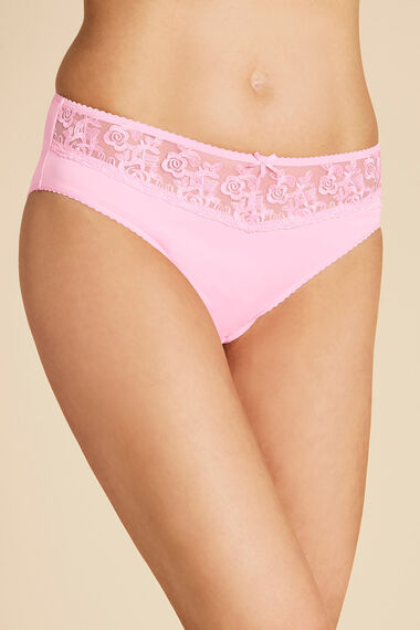 Lace Waist Brief