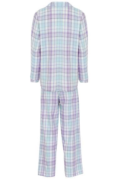 Check Woven Collar Pyjamas