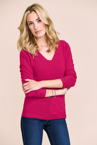 Supersoft V Neck Jumper