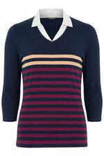 Stripe Jersey 2in1