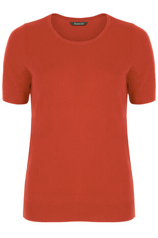 Super Soft Short Sleeve Jumper