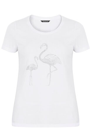 Diamante Flamingo T-Shirt