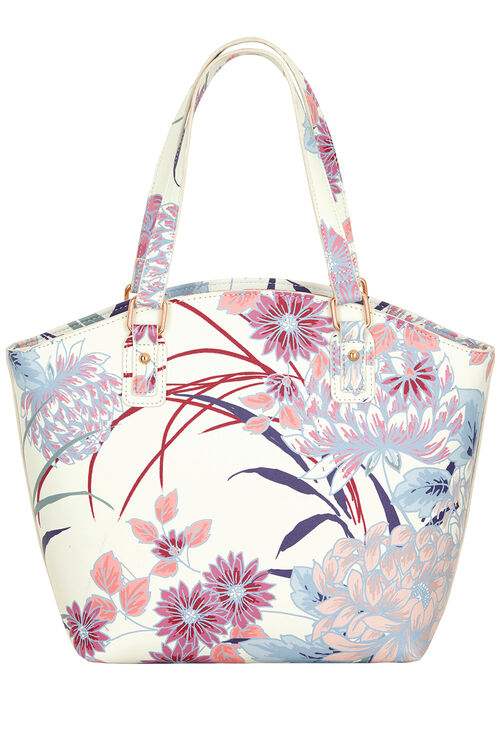 Oriental Printed Shoulder Bag