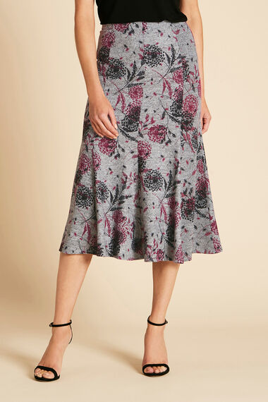 Soft Touch Printed Skirt
