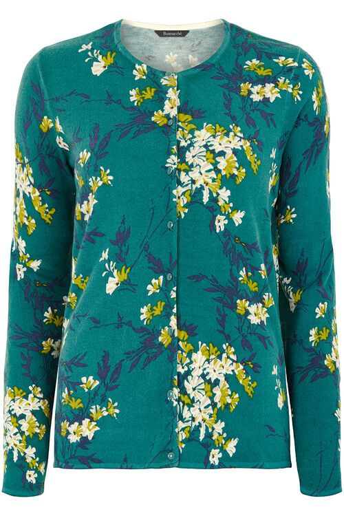 Supersoft  Floral Printed Cardigan