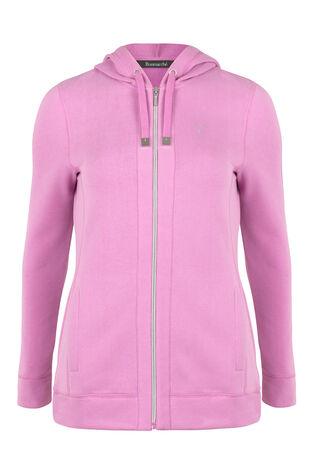 Activewear Zip Up Hooded Jacket