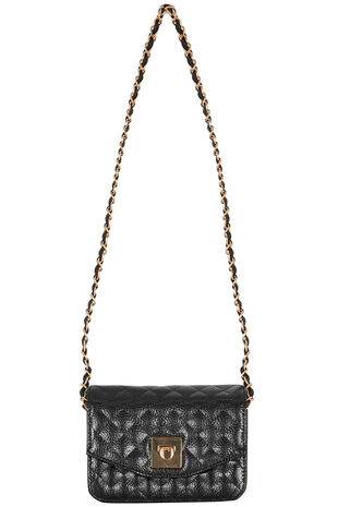 Quilted Chain Cross Body Bag