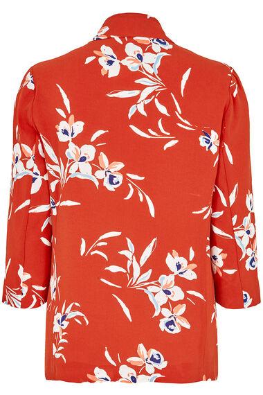 Printed Floral Blazer