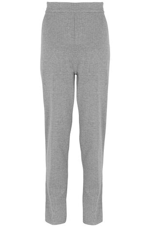 Relaxed Textured Trousers