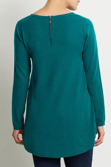 Super Soft Zip Back Tunic