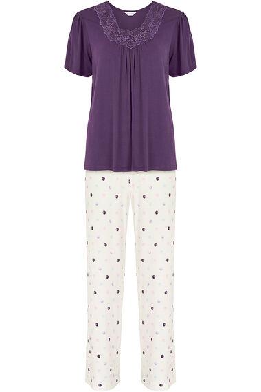 Spot Print Pyjamas