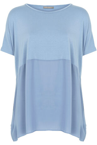 Ann Harvey Woven And Jersey Top