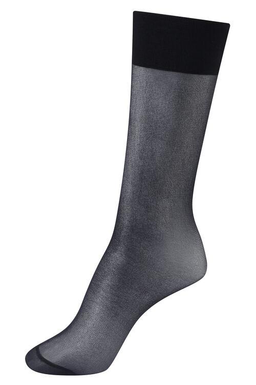 5 Pairs of 15 Denier Knee High Pop Socks