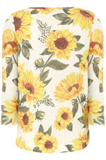 Sunflower Printed Jumper