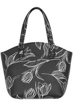 Tulip Printed Shoulder Bag