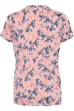 Linear Floral Burnout T-Shirt