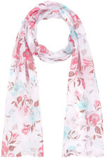 All Over Peony Print Scarf