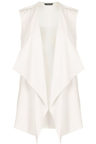 Longline Sleeveless Jacket