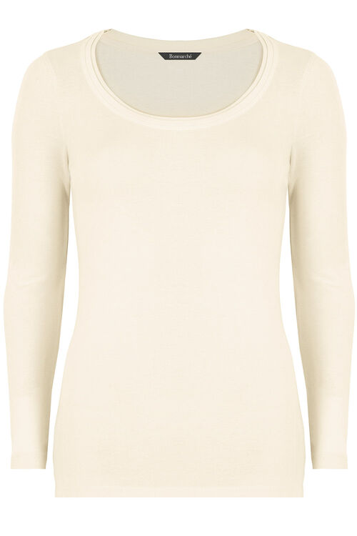 Basic Cotton Long Sleeve T-Shirt