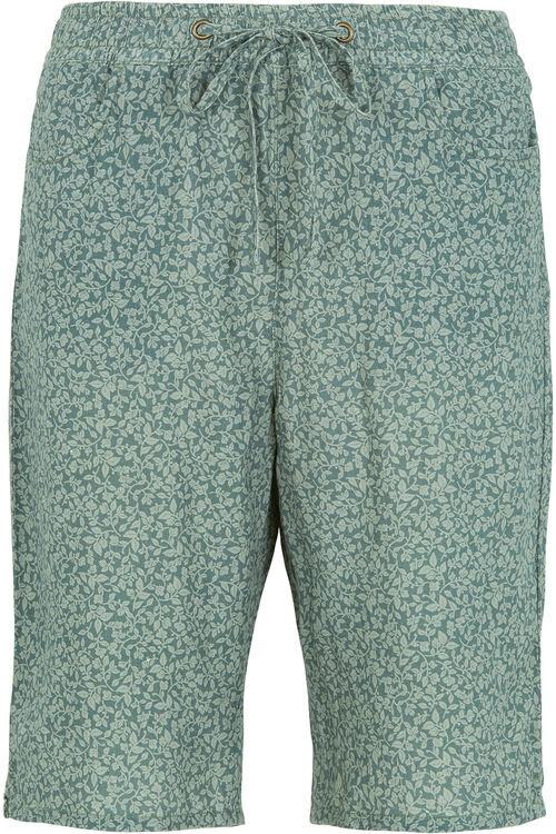 Ditzy Print Linen Shorts