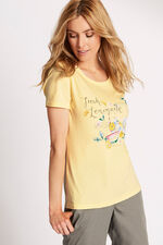 Lemonade Placement Print T-Shirt