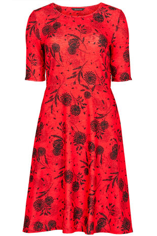 Floral Sprig Dress
