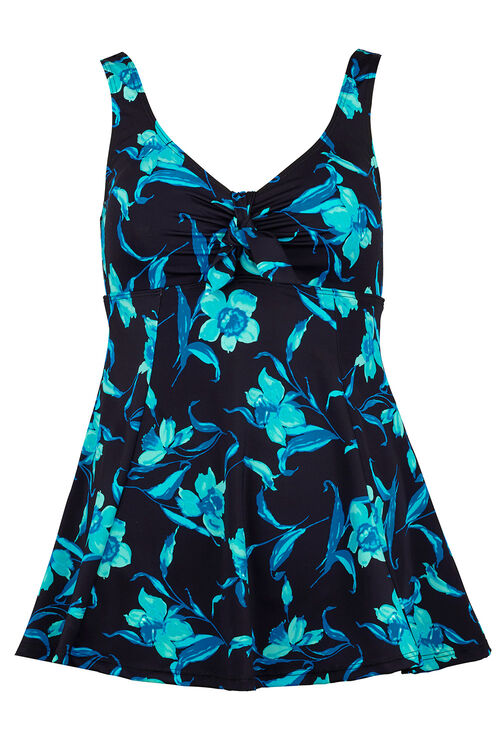 Daffodil Print Swim dress