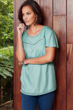 Ann Harvey Trim Detail Top