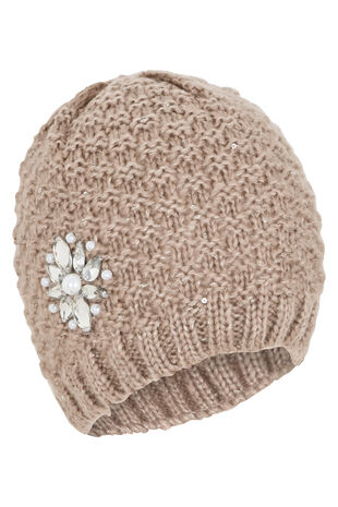 Embellished Hat