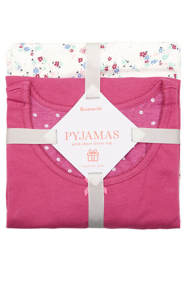 Gift Wrapped Floral PJ Set