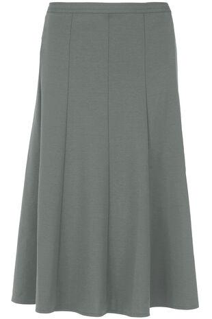 Ponte Panel Skirt