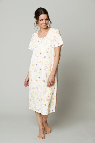 Lace Floral Nightdress