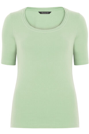 Pure Cotton Half Sleeve T-Shirt