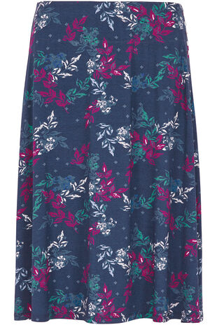 Floral Printed A Line Skirt