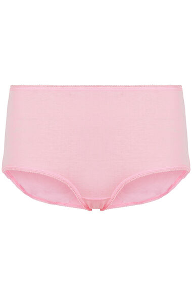 5 Pack Pink Heart Briefs