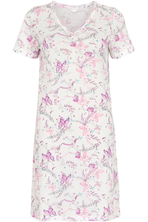 Butterfly V-Neck Nightdress