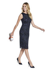 Sleeveless Fitted Lace Dress