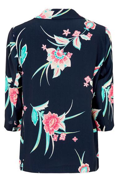 Indonesian Floral Blazer