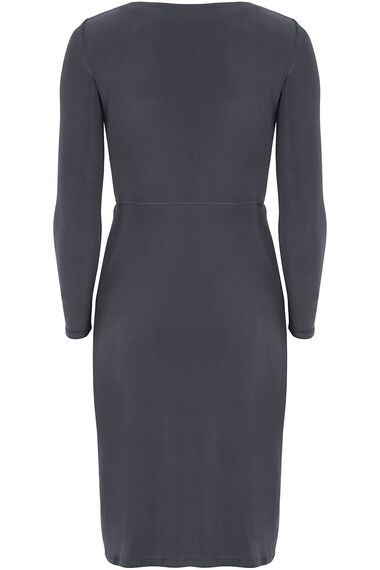 Long Sleeved Embellished Neckline