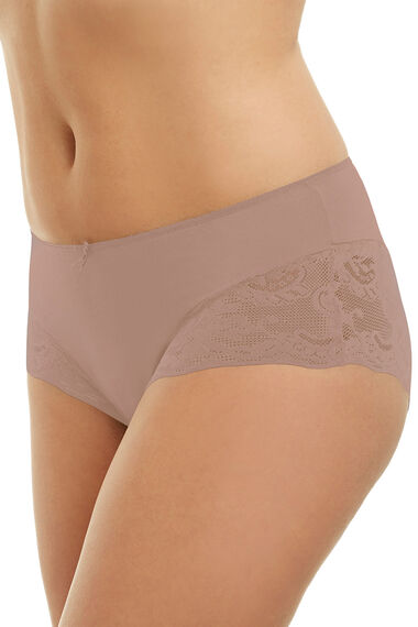 Taupe Lace Brief