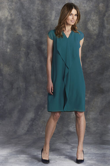 Waterfall Front Tunic Dress