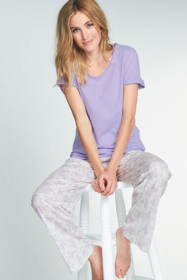 Lace Butterfly Print Pyjamas