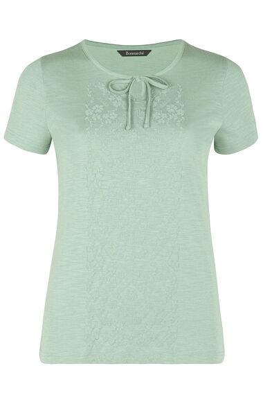 Bubble Print Placement T-Shirt